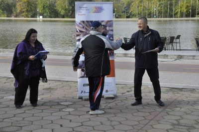 """Наградиха ОУ """"Гео Милев"""" за активно участие и принос в Европейски ден на спорта  - Изображение 2"""