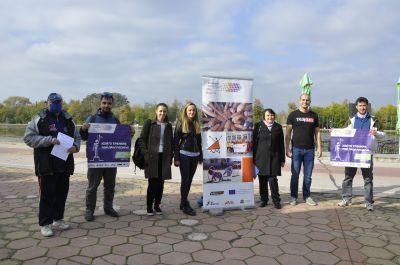 """Наградиха ОУ """"Гео Милев"""" за активно участие и принос в Европейски ден на спорта  - Изображение 4"""