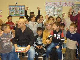 Националната седмица на четенето - ОУ Гео Милев - Пловдив
