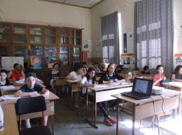 """Бъдещи учители от фондация """"Заедно в час"""",партньор на училището ни наблюдаваха един учебен ден - ОУ Гео Милев - Пловдив"""