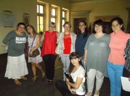 """Бдещи учители от фондация """"Заедно в час"""",партньор на училището ни наблюдаваха един учебен ден - ОУ Гео Милев - Пловдив"""