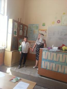 Урок по родолюбие в последния учебен час - ОУ Гео Милев - Пловдив