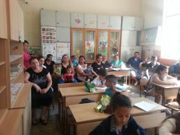 Раздаване на дипломи - 2 - ОУ Гео Милев - Пловдив