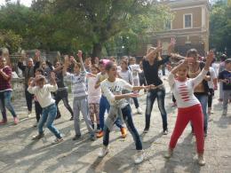 Момичетата от горен курс - ОУ Гео Милев - Пловдив