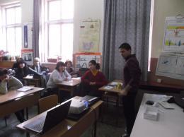 Обучение за работа с електронна дъска - ОУ Гео Милев - Пловдив