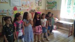 Завършване на подготвителните групи - ОУ Гео Милев - Пловдив