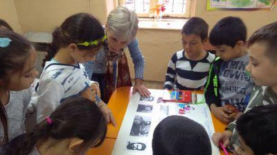 Табло Ia клас - ОУ Гео Милев - Пловдив