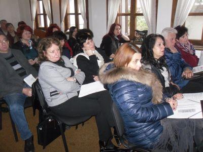 Впечатление на директорите направи презентацията на г-жа Кирова, директор  - ОУ Гео Милев - Пловдив