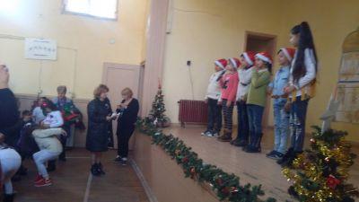 """Коледно тържество """"Коледни вълшебства"""" - ОУ Гео Милев - Пловдив"""