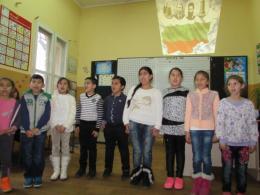1-ви и 2-ри клас пеят - ОУ Гео Милев - Пловдив