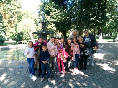 Изнесени часове в градския парк - ОУ Гео Милев - Пловдив