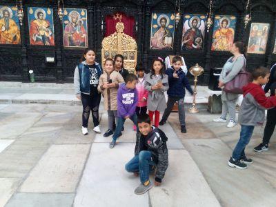 Посещение на църквата Св. Неделя - ОУ Гео Милев - Пловдив