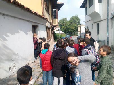 Посещение на библиотеката - ОУ Гео Милев - Пловдив