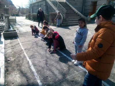 Рисунка на асфалт - ОУ Гео Милев - Пловдив