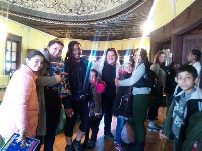 С гостите от щата Джорджия - ОУ Гео Милев - Пловдив