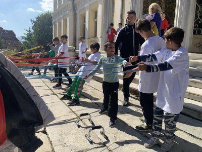 Развиваме мускулите си - ОУ Гео Милев - Пловдив