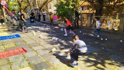 Разделно събираме отпадъци - ОУ Гео Милев - Пловдив
