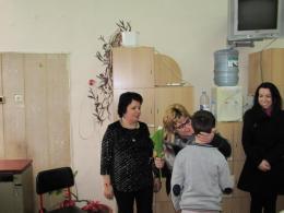 """Представителна изява на Клуб """"Цветарство"""" по проект """"Успех"""" за 8-ми март - ОУ Гео Милев - Пловдив"""